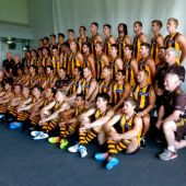 AFL 2014 Media - Hawthorn Team Photo Day