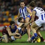 Andrew Swallow, Brisbane Lions, Cheynee Stiller, Michael Rischitelli, North Melbourne, Sam Power, Scott McMahon