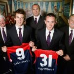 Brian Dixon, David Neitz, Jack Trengove, Melbourne, Ron Barassi, Tom Scully