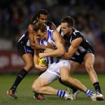 Collingwood, Drew Petrie, Harry O'Brien, Heritier O'Brien, Nathan Brown, North Melbourne