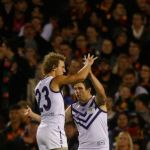 Adelaide Crows, Chris Mayne, Fremantle, Hayden Ballantyne