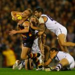 Adelaide Crows, Bernie Vince, Clancee Pearce, David Mundy, Fremantle
