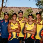 Danyle Pearce, Fremantle, Indigenous All Stars, Josh Simpson, Michael Johnson, Roger Hayden