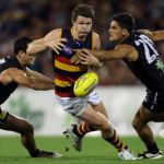 Adelaide Crows, Chad Wingard, Matthew Broadbent, Patrick Dangerfield, Port Adelaide