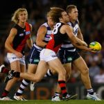 Essendon, Geelong, Joel Selwood, Nick Kommer