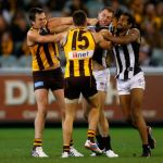 Brian Lake, Collingwood, Harry O'Brien, Hawthorn, Luke Hodge, Travis Cloke
