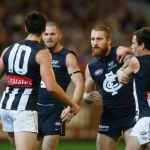 Carlton, Collingwood, Heath Scotland, Jarryd Blair, Scott Pendlebury, Zach Tuohy