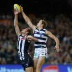 Collingwood, Geelong Cats, Jarrod Witts, Rhys Stanley