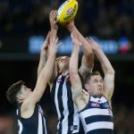 Collingwood, Geelong Cats, Jack Crisp, Jarrod Witts, Joel Selwood