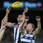 Collingwood, Geelong Cats, Jarrod Witts, Joel Selwood