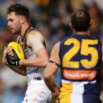Hawthorn, Jack Gunston, Shannon Hurn, West Coast Eagles