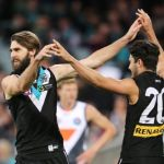 Chad Wingard, Justin Westhoff, Port Adelaide