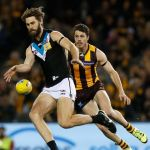Hawthorn, Isaac Smith, Justin Westhoff, Port Adelaide