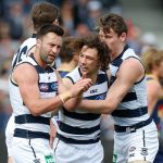 Geelong Cats, Jimmy Bartel, Josh Cowan, Mark Blicavs