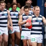 Geelong Cats, James Kelly, Mathew Stokes, Steve Johnson