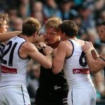 Fremantle, Matt de Boer, Matthew Lobbe, Michael Barlow, Nick Suban, Port Adelaide, Travis Boak