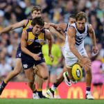Andrew Gaff, Fremantle, Matt de Boer, West Coast Eagles