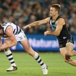 Geelong Cats, Patrick Dangerfield, Port Adelaide, Robbie Gray