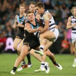 Geelong Cats, Ollie Wines, Port Adelaide, Tom Ruggles