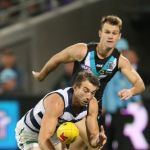 Corey Enright, Geelong Cats, Port Adelaide, Robbie Gray