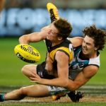 Connor Menadue, Darcy Byrne-Jones, Port Adelaide, Richmond