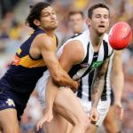 Collingwood, Jeremy Howe, Sharrod Wellingham, West Coast Eagles