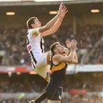 Collingwood, Luke Shuey, Mason Cox, West Coast Eagles