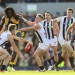 Collingwood, Jordan De Goey, Nic Naitanui, West Coast Eagles