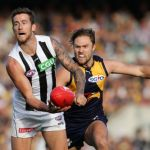 Collingwood, Jeremy Howe, Mark Hutchings, West Coast Eagles