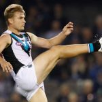 Ollie Wines, Port Adelaide