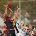 Justin Westhoff, Max Gawn, Melbourne, Port Adelaide