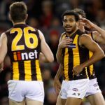 Cyril Rioli, Hawthorn, Isaac Smith, Liam Shiels