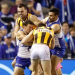 Brent Harvey, Hawthorn, Jonathon Ceglar, Liam Shiels, Lindsay Thomas, North Melbourne