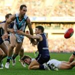 Fremantle, Hayden Ballantyne, Matthew Broadbent, Michael Barlow, Port Adelaide