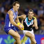 Drew Petrie, Kane Mitchell, North Melbourne, Port Adelaide
