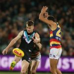 Adelaide Crows, Charlie Cameron, Port Adelaide, Robbie Gray