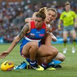 Abbey Holmes, Adelaide Crows, Hannah Scott, Western Bulldogs