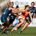 Carlton, GWS Giants, Katie Loynes, Stephanie Walker