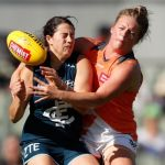 Carlton, GWS Giants, Hannah Wallett, Rebecca Privitelli