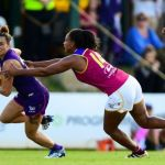 Brisbane Lions, Fremantle, Kirby Bentley, Sabrina Frederick-Traub