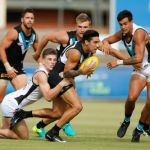 Chad Wingard, Joe Atley, Port Adelaide