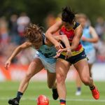 Adelaide Crows, Carlton, Jessica Sedunary, Nat Exon