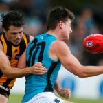 Hawthorn, Isaac Smith, Joe Atley, Port Adelaide