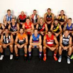 Adelaide Crows, Brisbane Lions, Callan Ward, Carlton, Collingwood, Daniel Talia, Dayne Beams, Dyson Heppell, Essendon, Fremantle, Geelong Cats, Gold Coast Suns, GWS Giants, Hawthorn, Jack Ziebell, Jarryd Roughead, Jarryn Geary, Joel Selwood, Josh Kennedy, Marc Murphy, Melbourne, Nat Fyfe, Nathan Jones, North Melbourne, Port Adelaide, Richmond, Robert Murphy, Scott Pendlebury, Shannon Hurn, St Kilda, Steven May, Sydney Swans, Travis Boak, Trent Cotchin, West Coast Eagles, Western Bulldogs