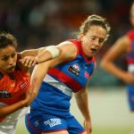 GWS Giants, Hayley Wildes, Rebecca Beeson, Western Bulldogs