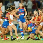 Ellie Brush, Emma Kearney, GWS Giants, Western Bulldogs