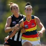 Adelaide Crows, Collingwood, Emma King, Rhiannon Metcalfe