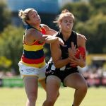 Adelaide Crows, Collingwood, Courtney Cramey, Jasmine Garner