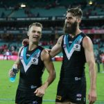 Justin Westhoff, Port Adelaide, Robbie Gray