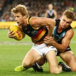 Adelaide Crows, Ollie Wines, Port Adelaide, Rory Sloane
